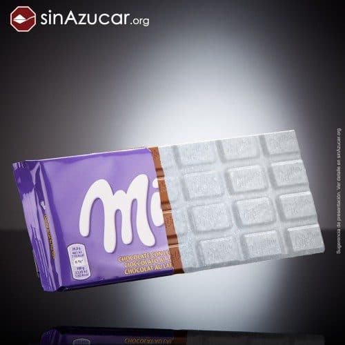 cantidad de azúcar chocholate