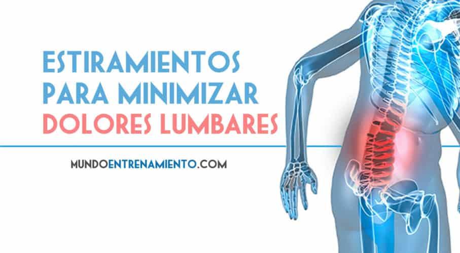 estiramientos para aliviar el dolor lumbar