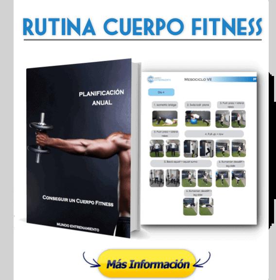 Rutina para conseguir cuerpo fitness