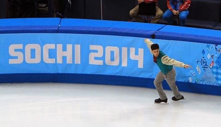 Javier en Sochi