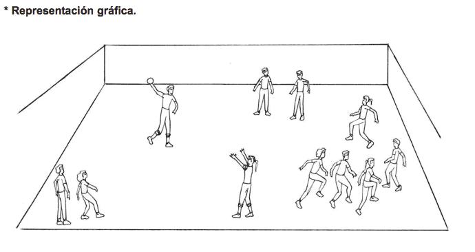 juego de calentamiento en educación física
