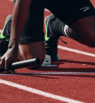 atleta en salida