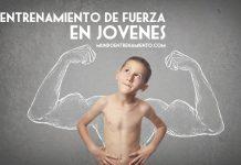 entrenamiento de fuerza en jóvenes