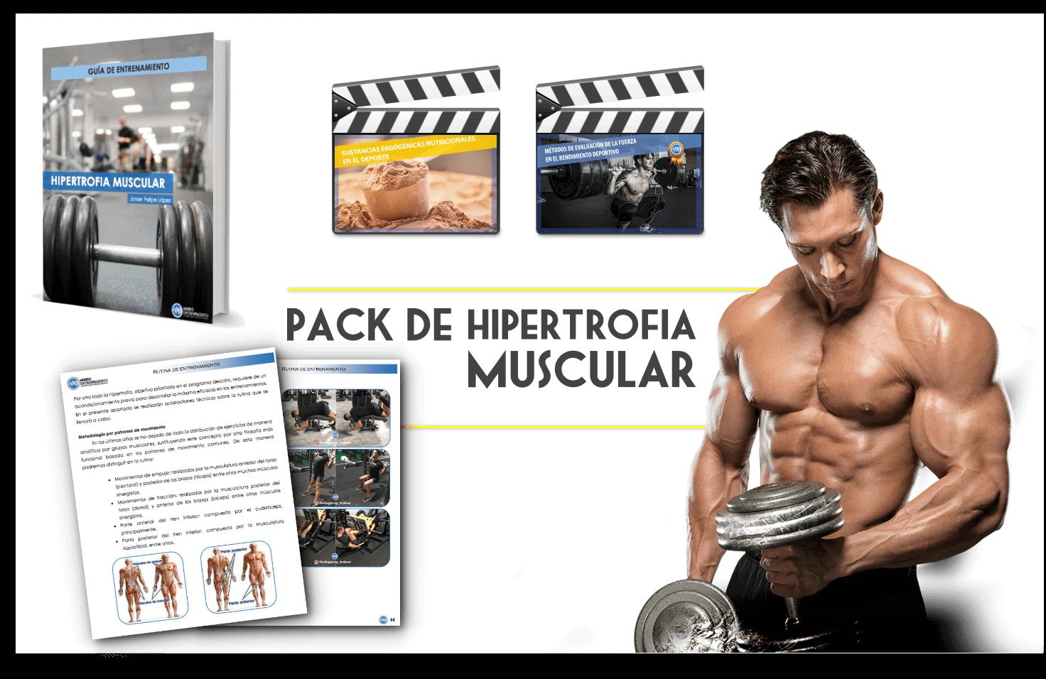 pack hipertrofia