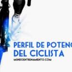 perfil de potencia del ciclista