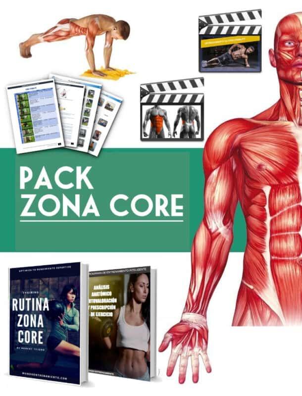 Pack Zona Core Training 5