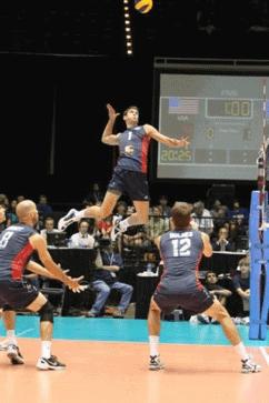 ataque voleibol Potenciación post activación