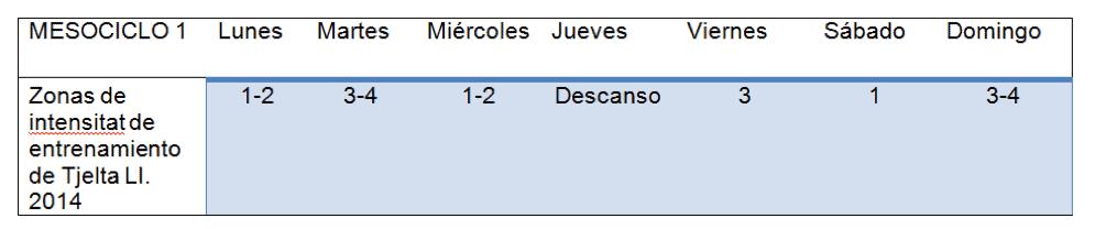 Mesociclo 1