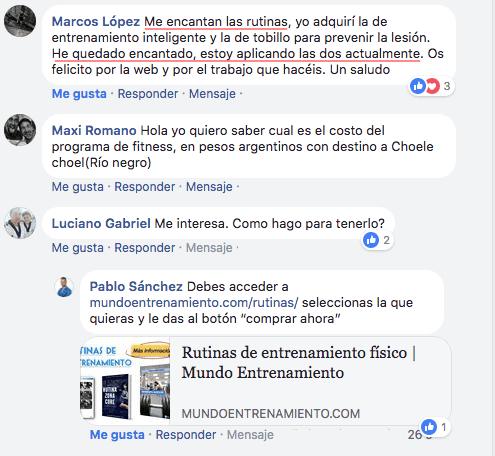 opinión facebook