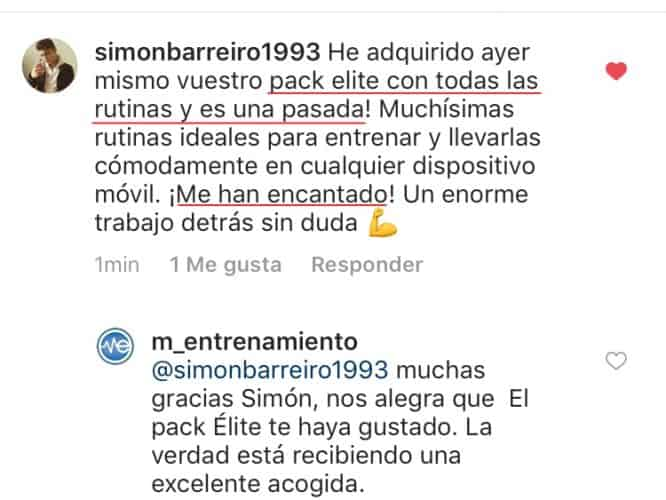 opinión instagram