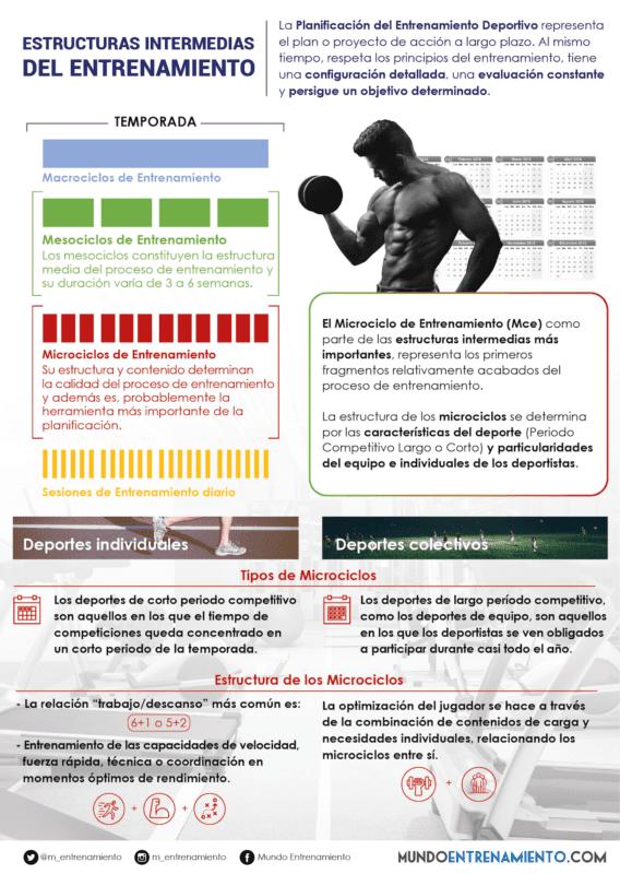 Infografia Microciclo Entrenamiento