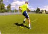 Lesión de ligamentos y escalera de agilidad