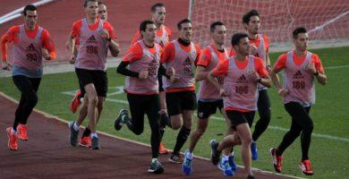 Pruebas físicas en árbitros de fútbol