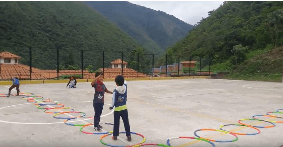 imagen 15 aros en educación física