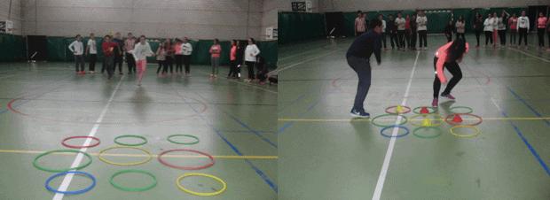 Imagen 5 aros en educación física