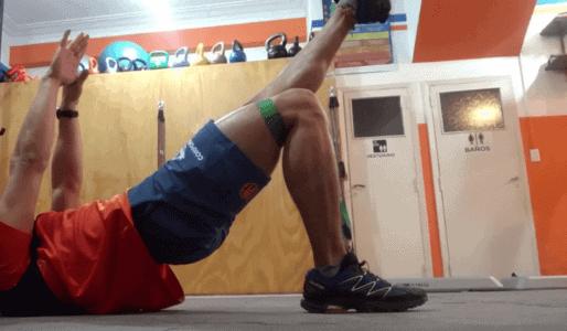 Puente de glúteos para combatir la amnesia glútea y el valgo de rodilla.