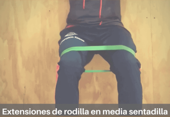 Extensiones de rodilla