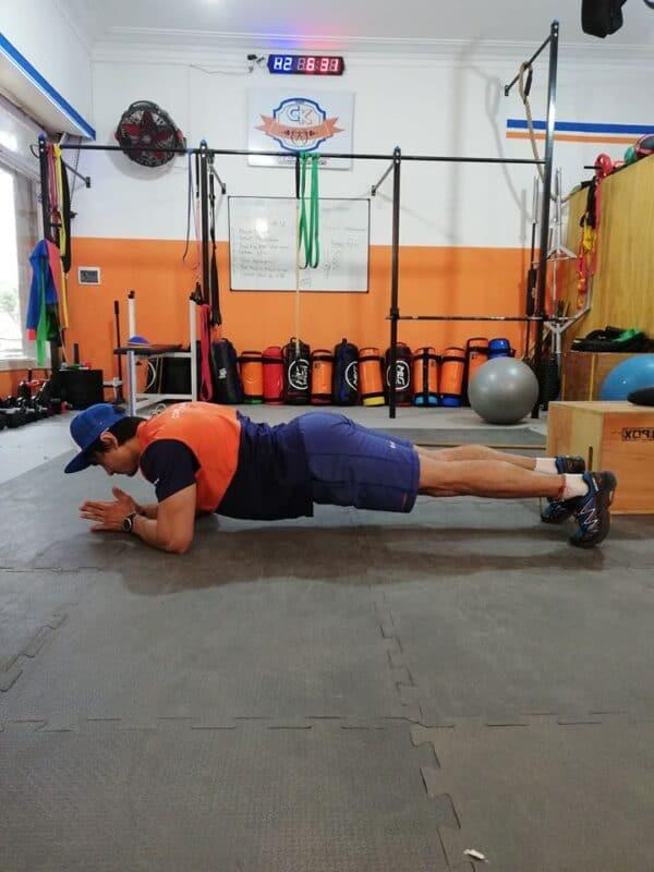 Plancha Rusa, ejercicio de activación