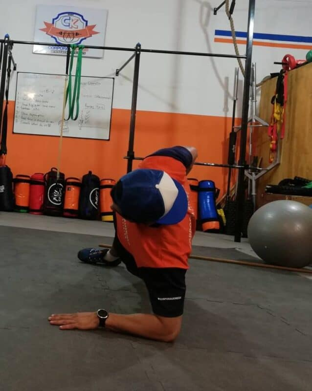 Roll-Plank. Ejercicio de anti-rotación para CORE.