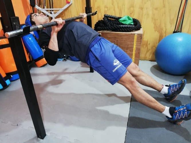 Remo invertido: 1 gran ejercicio para mejorar tus tracciones 2