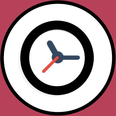 reloj ayuno icono