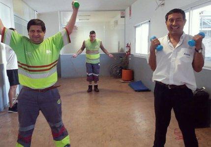Actividad Física Intra entorno laboral