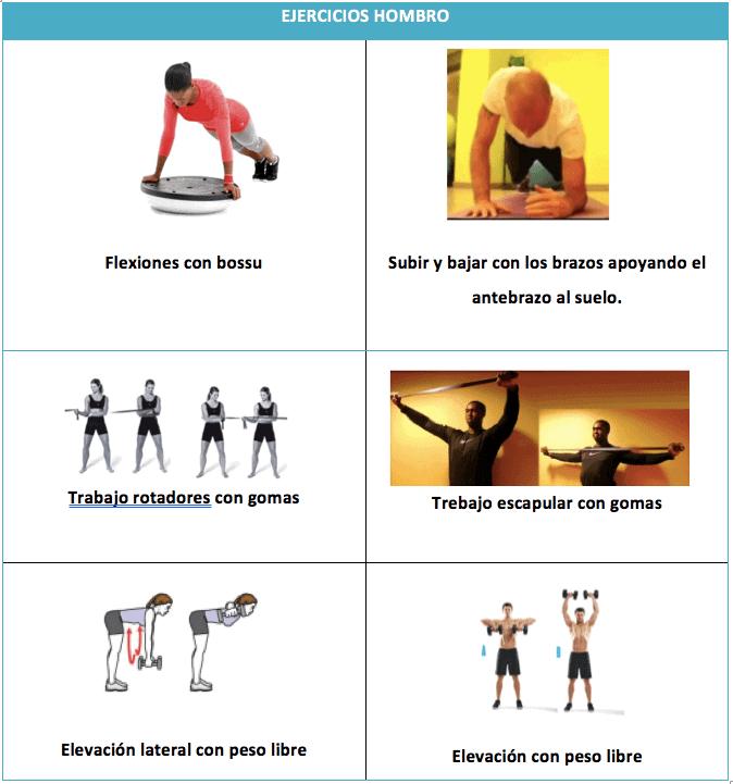 ejercicios para el hombro rugby