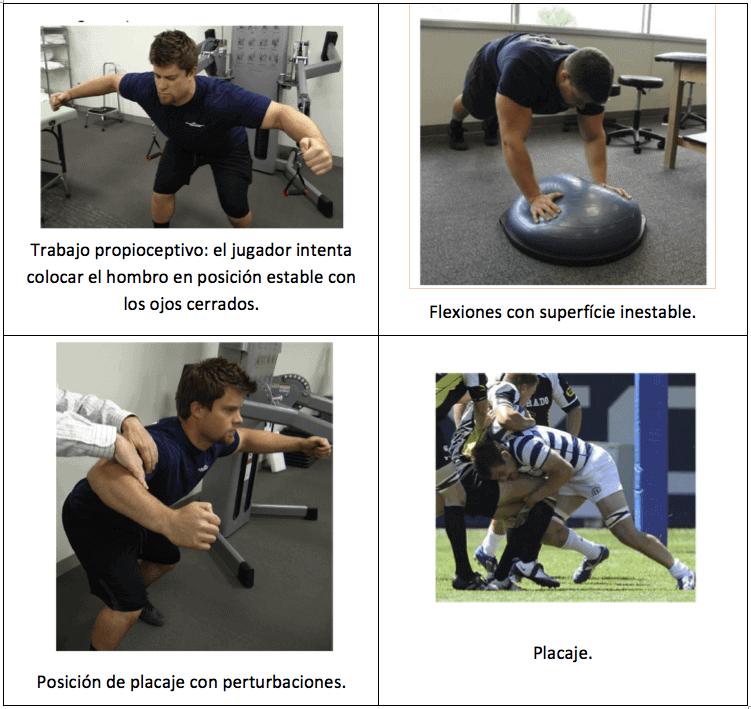ejercicios para prevenir lesiones en el rugby