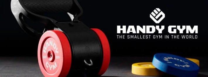 Handy Gym, el gimnasio más pequeño del mundo 2