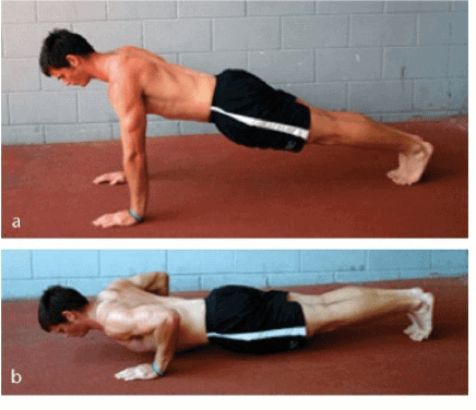 Técnica de las flexiones