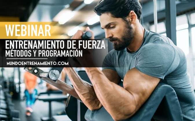 webinar entrenamiento de fuerza