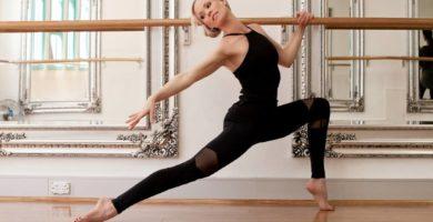 entrenamiento de danza