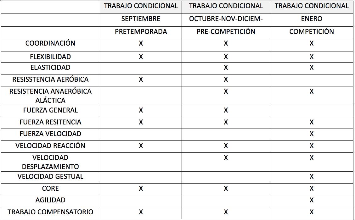 Periodización y Preparación física en el tenis en etapas de formación
