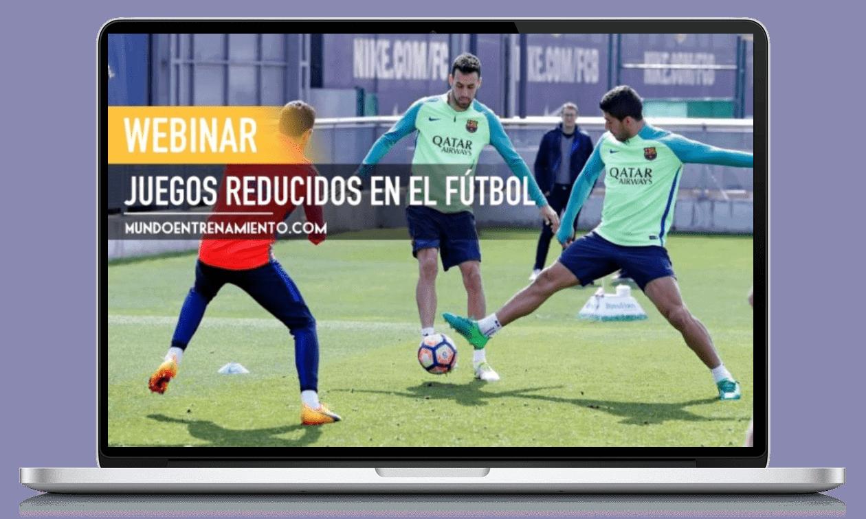 webinar juegos reducidos en fútbol