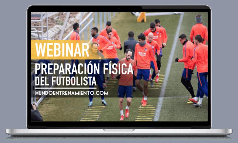 webinar preparación física futbolista