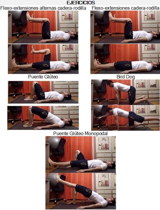 Imagen 2 - Ejercicios para entrenar Bracing y Hollowing