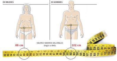 perímetro abdominal