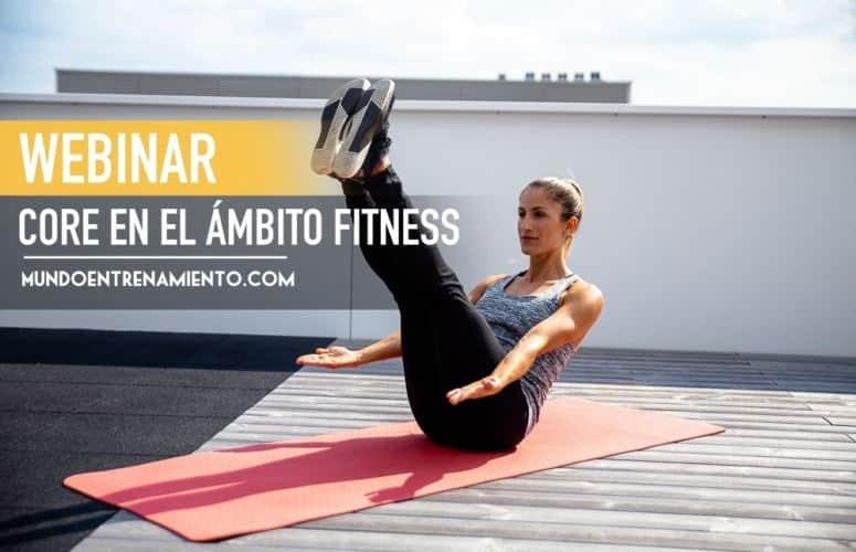 Webinar entrenamiento core en el ámbito fitness