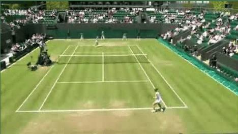 Imagen de Wimbledon, el Grand Slam donde se requiere mas velocidad de reacción
