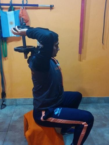 Pullover un ejercicio más eficiente para fortalecer tus triceps.