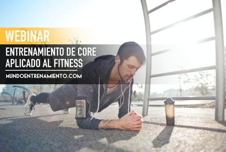 Webinar entrenamiento de core en el ámbito del fitness