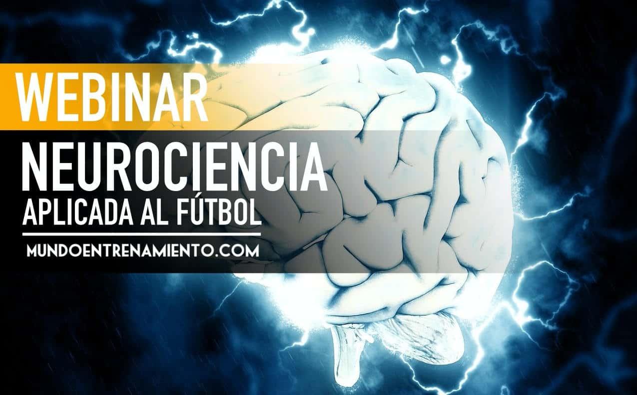 Webinar de neurociencia aplicada al fútbol