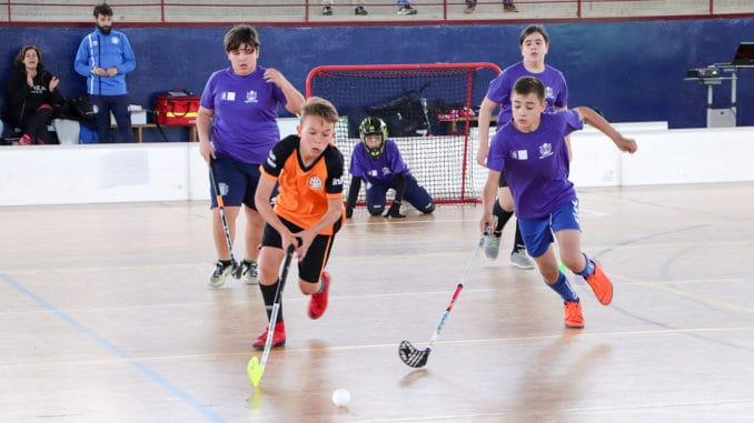 el floorball en educación física