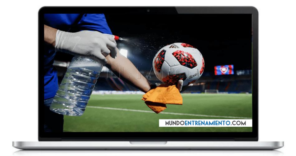masterclass fútbol en tiempos de COVID
