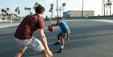 Pista de la unidad didáctica de baloncesto