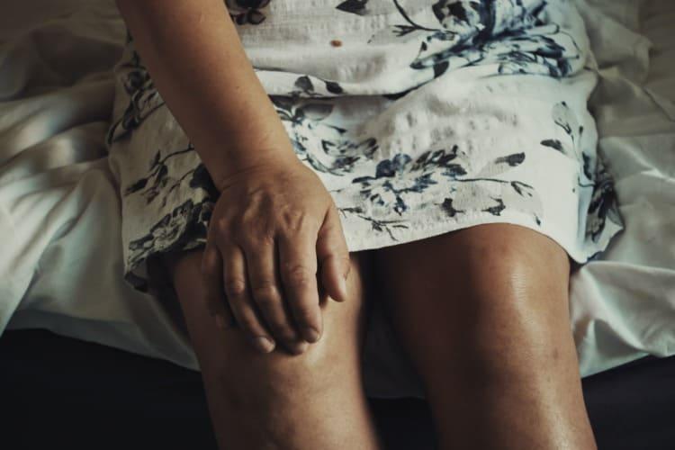 Dolor tras una infiltración de rodilla