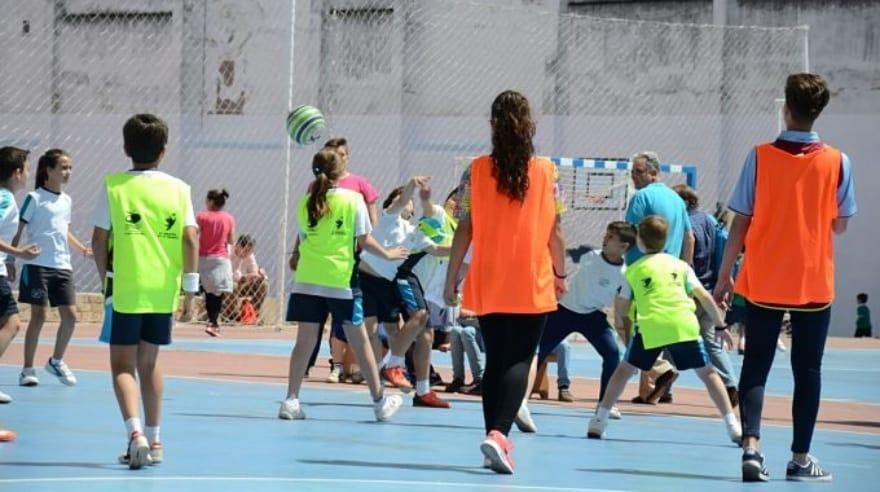 colpbol en educación física
