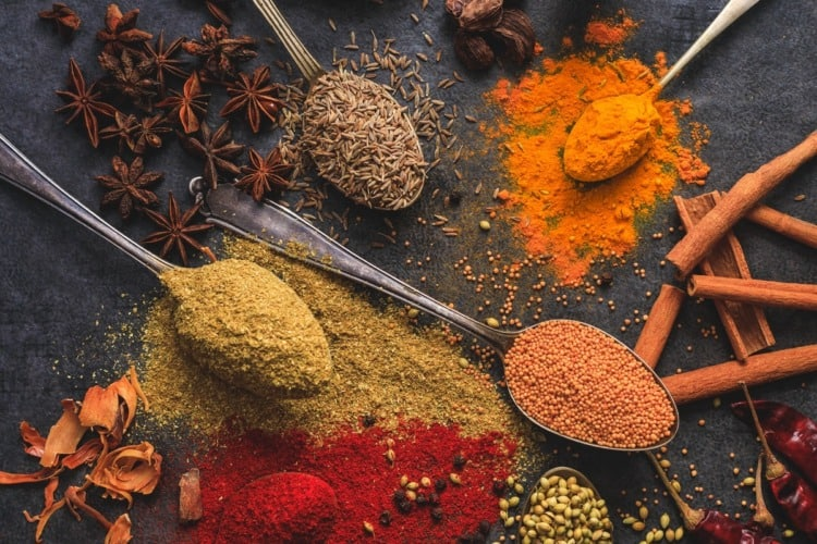 especias culinarias para perder peso