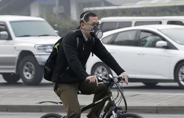 Contaminación y bicicleta
