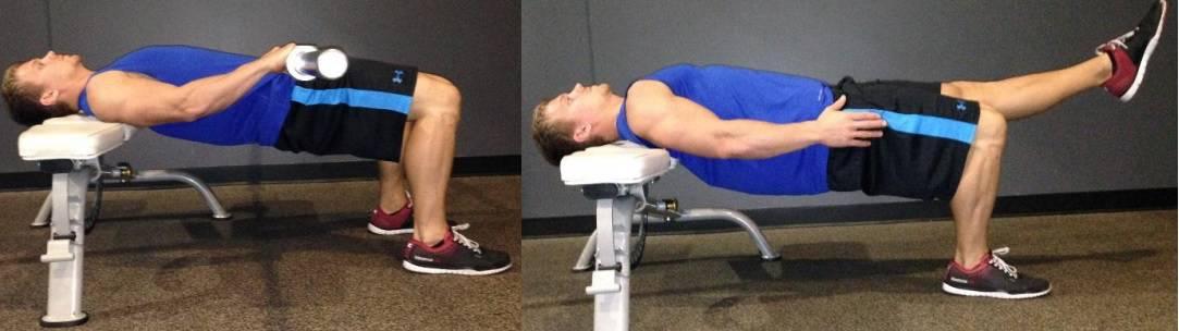 Progresión 2 del hip thrust